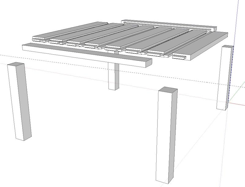 Table basse (pas à pas) SUtable2